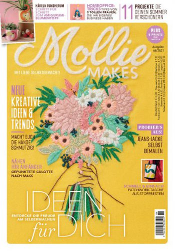 Mollie Makes №64 2021 (Germany)